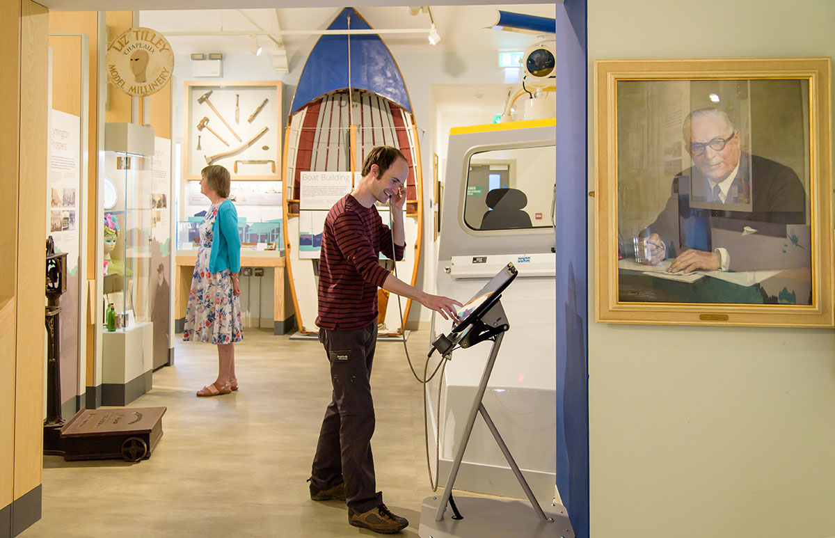 St Barbe Museum and Art Gallery, Lymington, Hampshire
