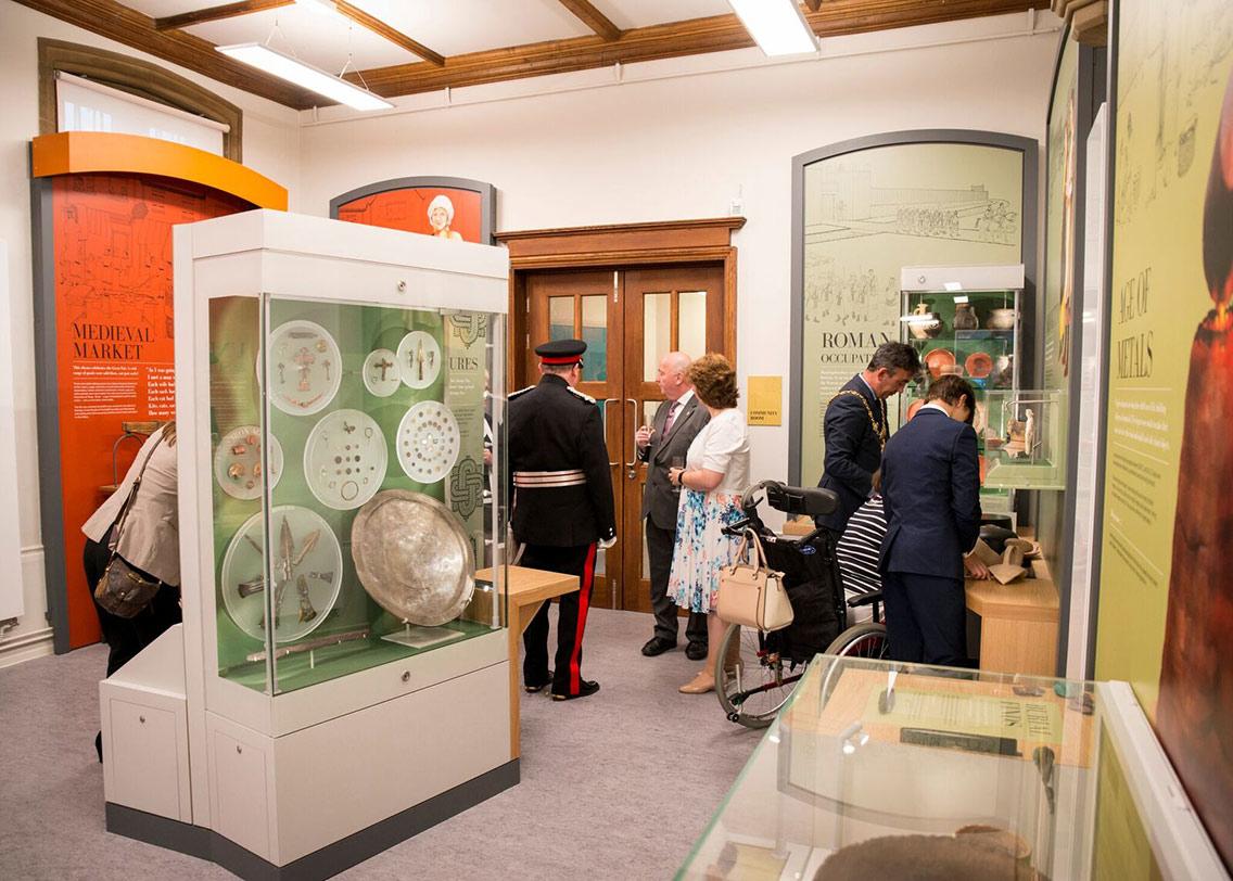A public exhibition at The Norris Museum