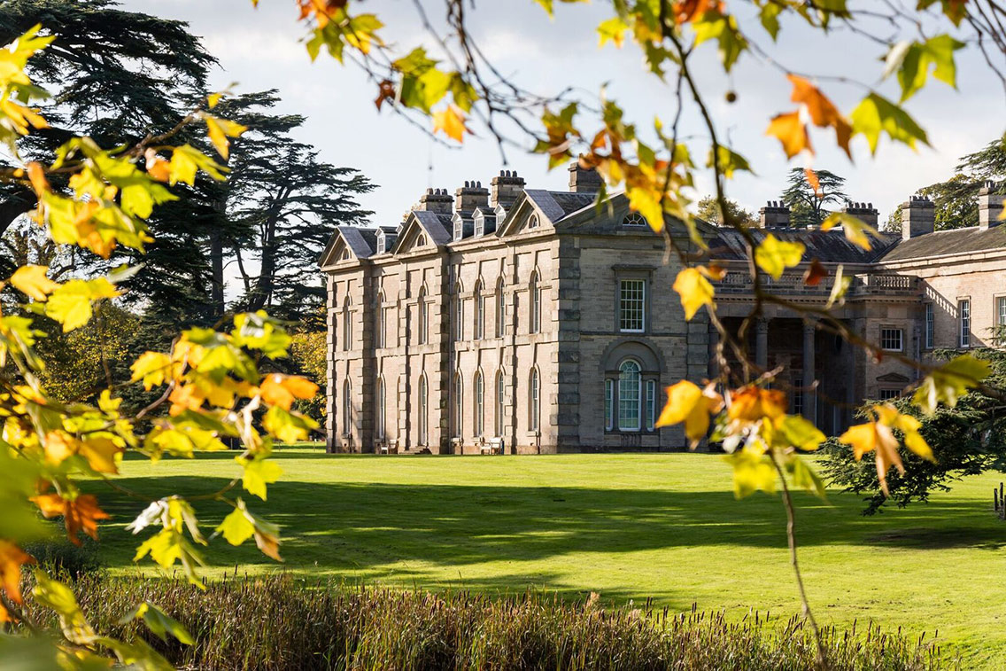 The exterior of Compton Verney within its stunning grounds