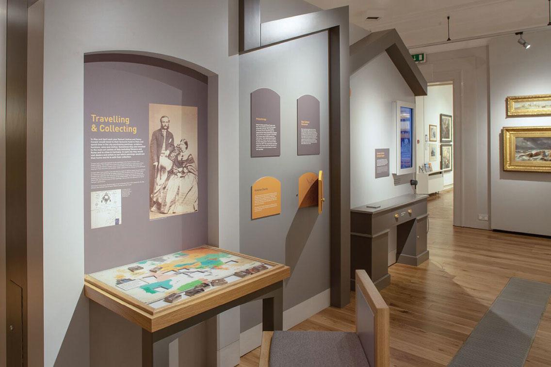 display in cooper art gallery