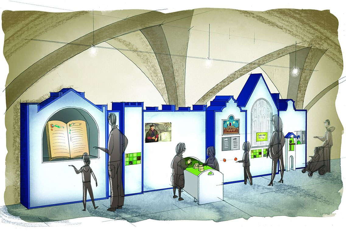 Concept design to reinterpret the exhibition space at King's Lynn Town Hall