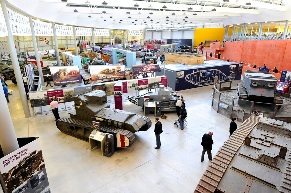 A military tank museum