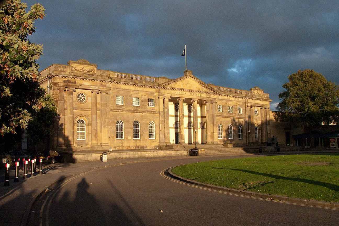 The impressive exterior of York Castle Museum